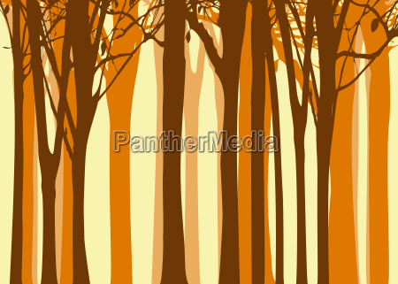 abstract autumn tree background