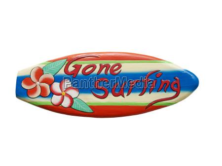 gone surfing zeichen
