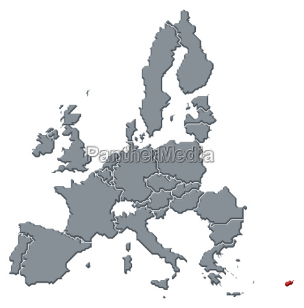 map of the european union cyprus