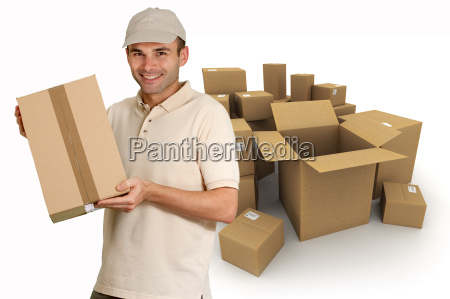 cardboard boxes delivery