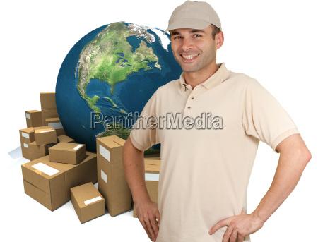 messenger and worldwide logistics