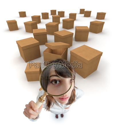 box searching
