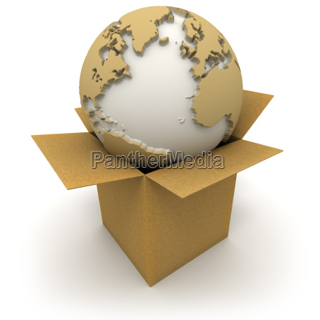 the world in a box