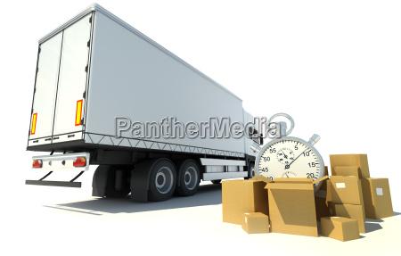 time record transportation