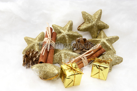 apfel zimt geschenk und gloeckchen zur