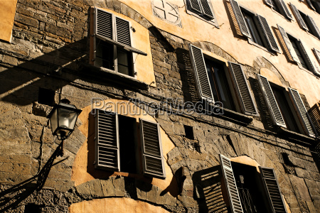 shutters and shadows in florence
