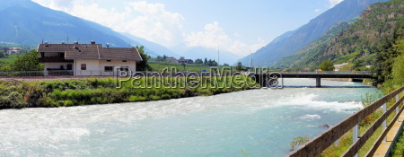 vinschgau with letters and naturns in