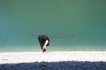 stretching am strand