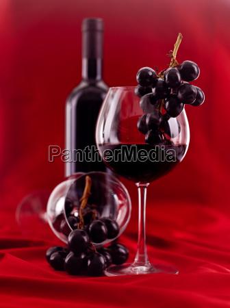 weinglas, und, flasche - 5627961