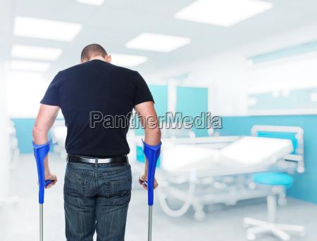 patienten im krankenhaus