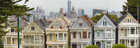 painted ladies row houses by alamo