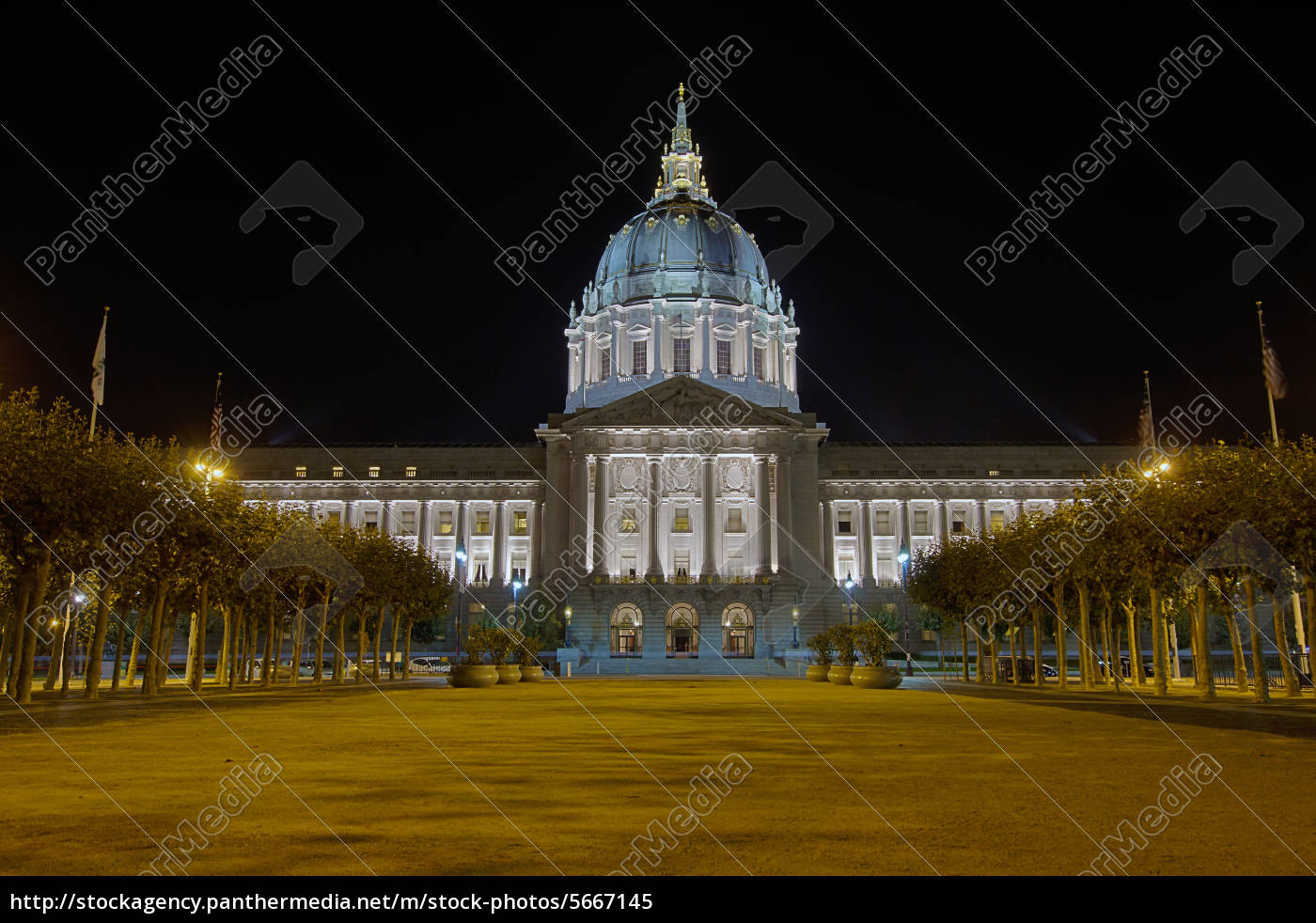 san, francisco, city, hall, at, night - 5667145