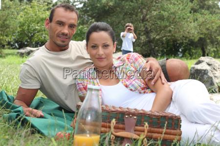 familien picknick