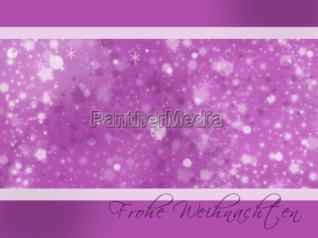 weihnachtsfreude lila