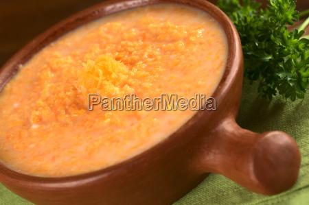 karotten creme suppe