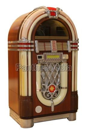 old jukebox music player