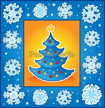 weihnachtsthema grusskarte 5