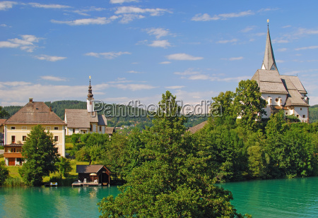 maria woerth am woerthersee in