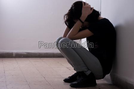 depressiv teenager