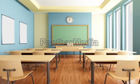 leeren klassenzimmer