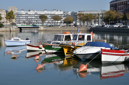 port of le havre in france