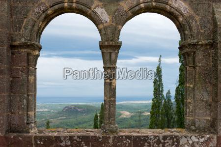 monastery sant miquel d039escornalbou in spain