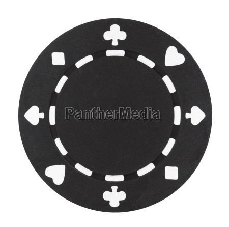 schwarz poker chip