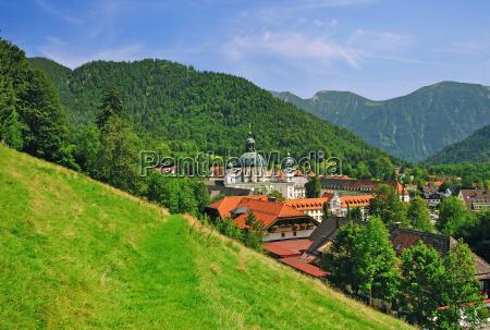 kloster ettal bei oberammergau in