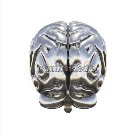 chrome brain rueckansicht