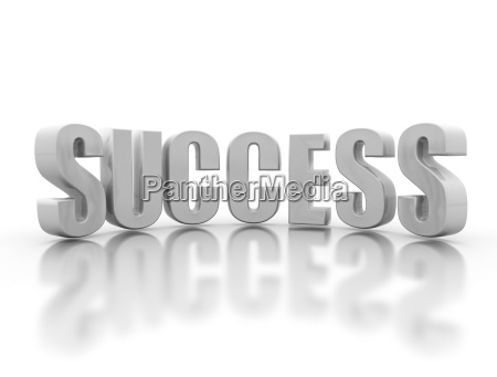 success 3d text
