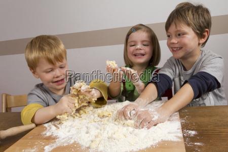 children have to prepare a lot
