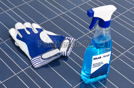 solar cells and cleaning agents