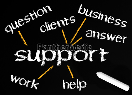 support business concept
