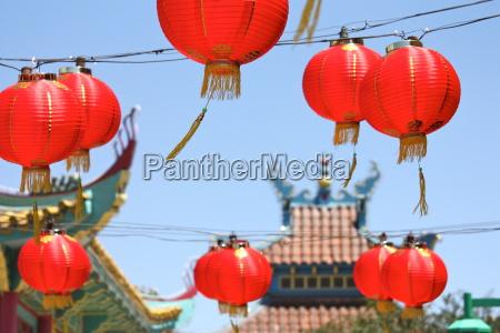 chinesische lampions