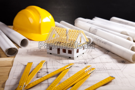 architektur planen und zu hause