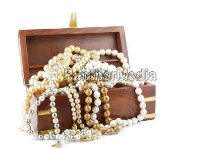 jewel box auf weissem