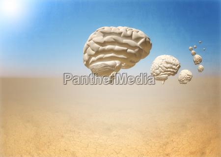 escape of brain