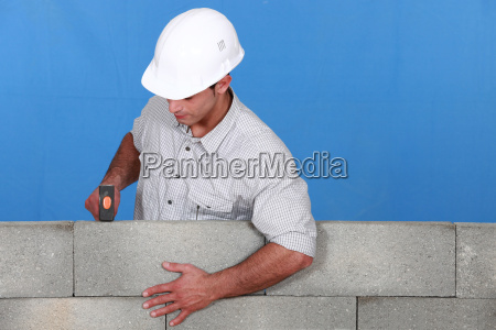 blau bauen einstellen ziegel ziegelstein verstellen
