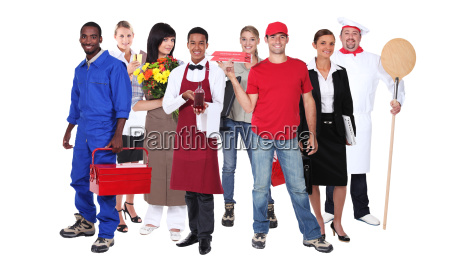 erfolgreiche, arbeiter - 5952771