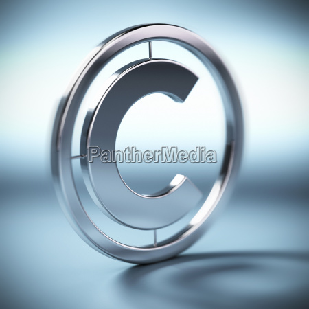 copyright symbol background