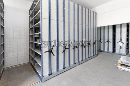 archiv innenraum