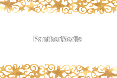 goldene verzierte sterne