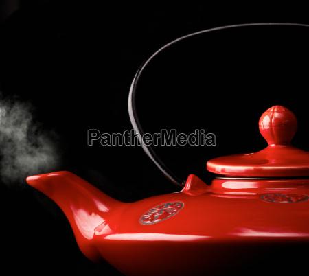 chinesische rote teekanne
