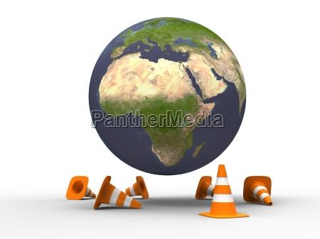 planet im aufbau