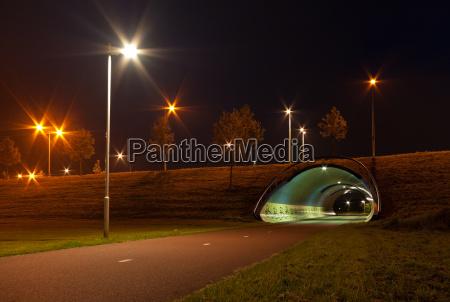 tunnel fuer fahrraeder