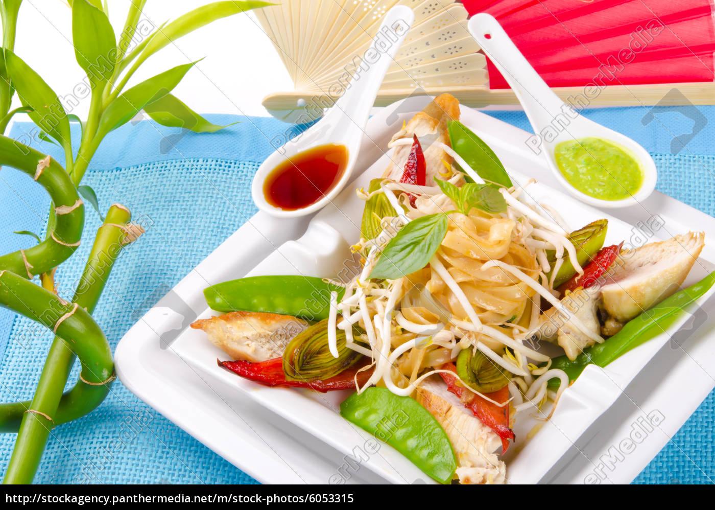 thailändisches, schaf, gebratenes, hühnerbrustfilet - 6053315