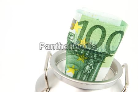 spardose euroschein