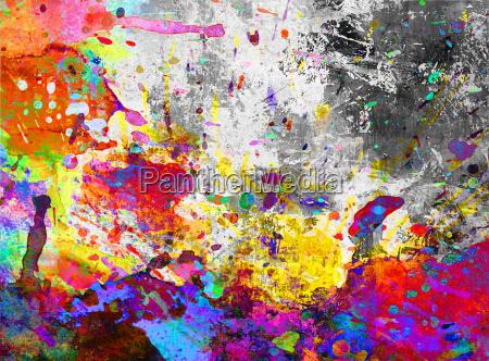 kleckse farben hintergrund