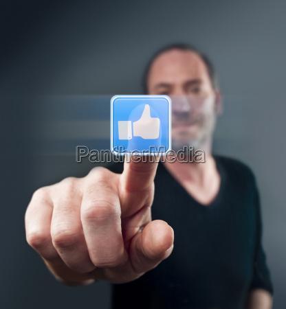 i like it thumb up