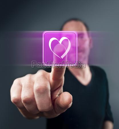 virtual valentine love
